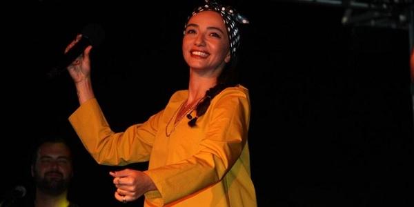 Kafkasya yaz şenlikleri Öykü Gürman'la devam etti