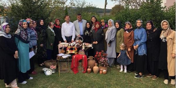 41 çeşit yöresel lezzetin tadına Eseler Köyü'nde bakıldı