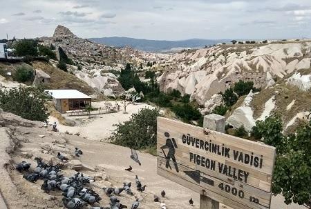 Uçhisar-Kapadokya-Türkiye'de gezilecek yerler-Güvercinlik Vadisi2