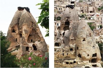 Uçhisar-Kapadokya-Türkiye'de gezilecek yerler-Karakale