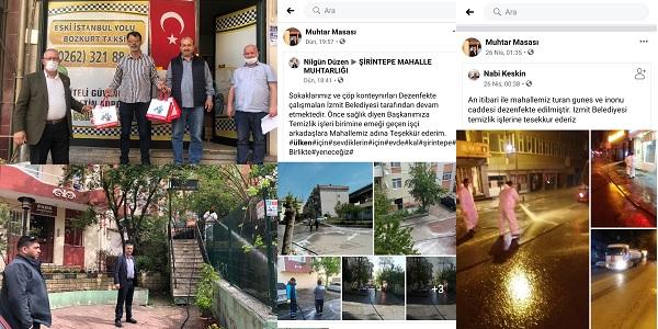 İzmit Belediyesi Muhtar Hizmetleri mahalle sakinlerinin yanında
