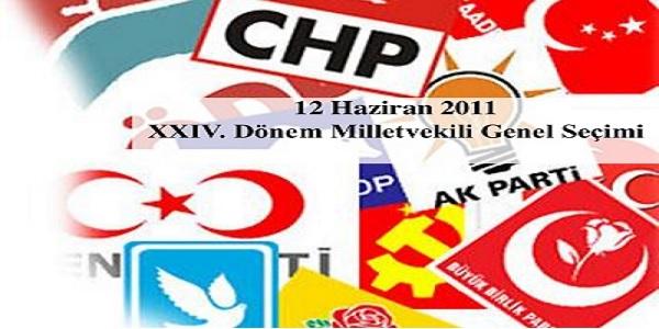 12 Haziran 2011 genel seçimleri Kocaeli sonuçları
