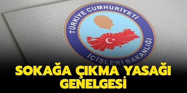 17-19 Nisan 30 Büyükşehir ve Zonguldak sokağa çıkma yasağı