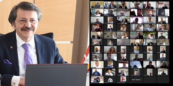 Hisarcıklıoğlu 'Kocaeli Ticaret Odamla gurur duyuyorum'