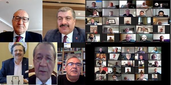 Kocaeli Sanayi Odası 'Müşterek Meslek Komiteleri' toplantısı Online yapıldı