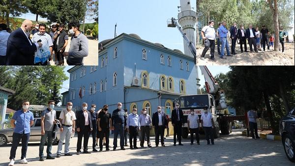 İzmit Belediyesi Süleymaniye Paşa Camiinin çevre düzenlemesini yapacak
