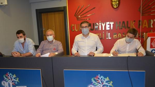 CHP Kocaeli her ilçede koronavirüs yaralarını saracak