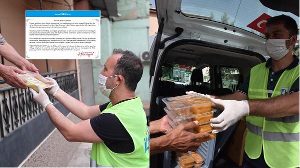 Hürriyet 'Ramazanda ihtiyaç sahiplerine 12 bin 221 sıcak yemek ulaştırdık'