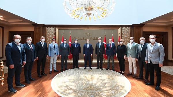KOTO Başkanı ve yönetiminden Vali Yavuz'a hayırlı olsun ziyareti
