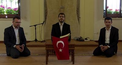 Orhan Camii'nde milli mücadele kahramanlarımız ve şehitlerimiz için Kuran-ı Kerim tilaveti gerçekleştirildi