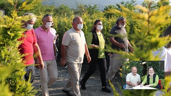 Kartepeli kooperatif ve İzmit Belediyesinden bitki alımı imzası