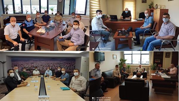 Kurban Bayramı öncesi Büyükşehir'de koordinasyon toplantısı