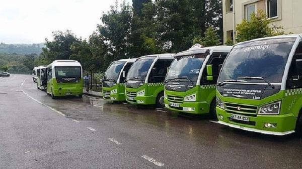 Toplu taşıma esnafına cansuyu desteğinin son taksiti ödendi