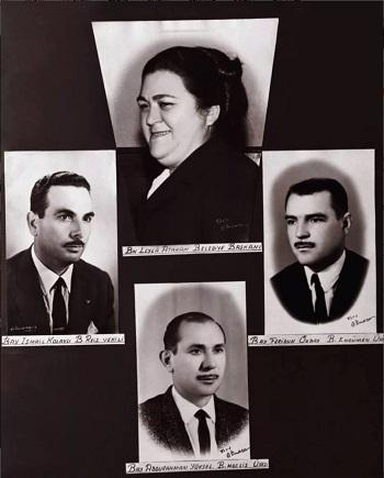 leyla atakan ve meclis üyesi arkadaşları
