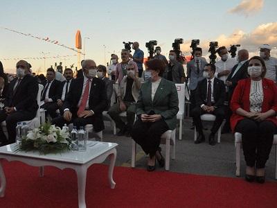 açılışta Kılıçdaroğlu ve Akşener sohbet ettiler