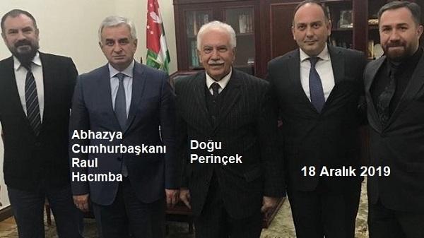 Abhazya Meclisi ve Vatan Partisi'nin Ortak Bildirisi