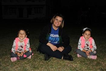 Başkan Zeynep'in ikizleriyle