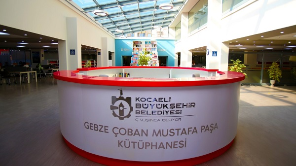 Çoban Mustafa Paşa Kütüphanesi Gebzelileri kitap ile buluşturdu
