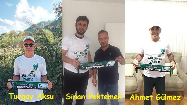 Photo of Kocaelispor efsaneleri Hürriyet'in hediyeleriyle gülümsedi