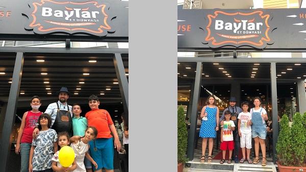 Photo of Baytar Steakhouse Dünya Çocuk Hakları Günü'nü kutladı