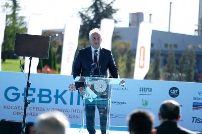 GEBKİM Kimya İhtisas Organize Sanayi Bölgesi Yönetim Kurulu Başkanı Vefa İbrahim Aracı