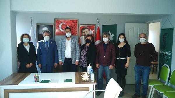 Photo of Gelecek Partisi Derince teşkilatı CHP Derince'yi ağırladı