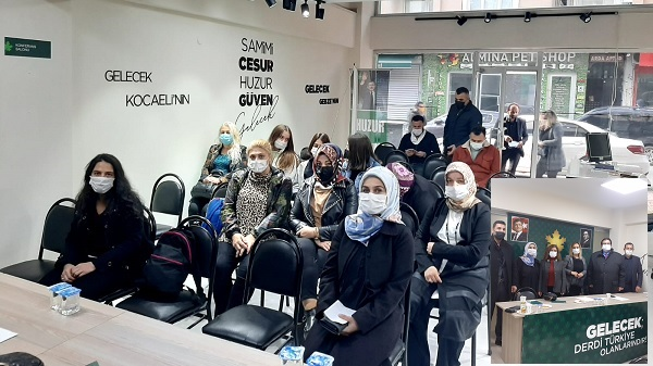 Gelecek Partisi Gebze'de kadınlar Gamze Yeniçeri'ye emanet