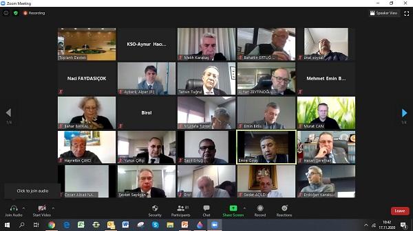 Photo of Kocaeli Sanayi Odası Kasım ayı Meclis toplantısı yapıldı