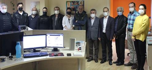 İGF yöneticileri ve çalışanları