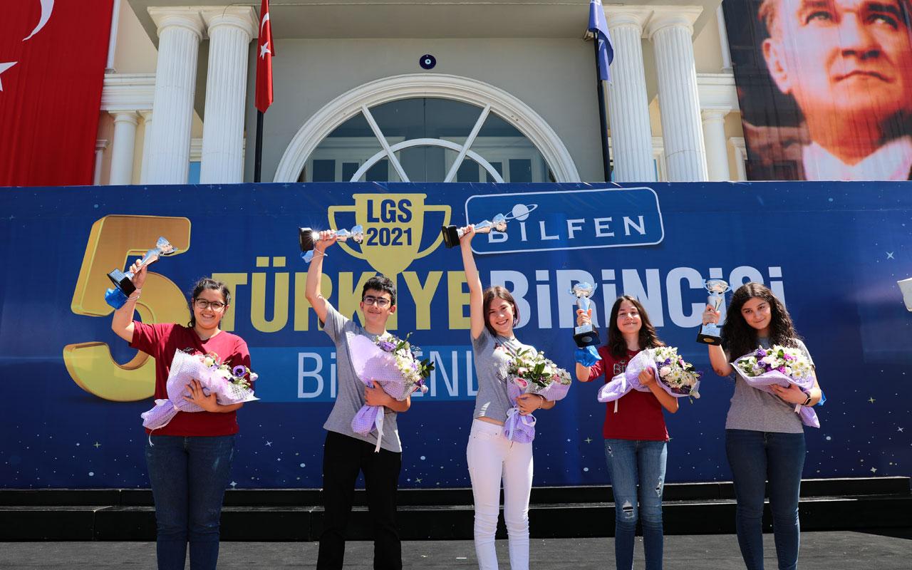 Bilfen'de LGS'den başarıyla çıkan şampiyonlar belli oldu