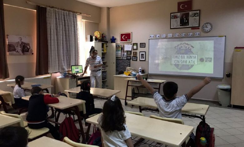 Kocaeli'de öğrencilere sıfır atık eğitimi