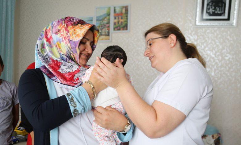 Ankara'da Gölbaşı bebeklerine 'hoşgeldin'  hediyesi